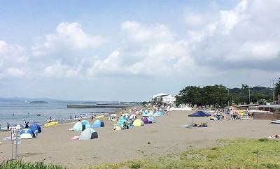 2016年の真夏の館山